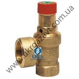 Клапан предохранительный Honeywell SM120-1/2A латунный ВВ Ду 15х20 (1/2