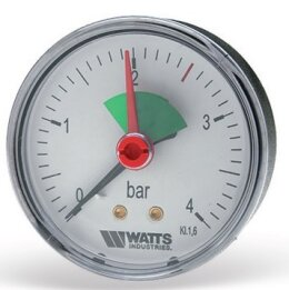 F R101 (MAL) Манометр аксиальный. Watts