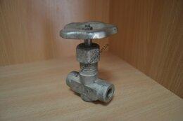 Вентиль игольчатый на высокое давление Клапан запорный проходной сальниковый 14с64нж ВВД (ВИ)