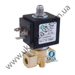 Клапан электромагнитный ODE 31A3AB15 прямого действия НЗ 1/8