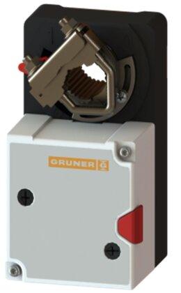 Электропривод  GRUNER 227-ая серия. IP54, подключение