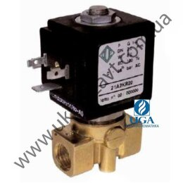 Клапан электромагнитный ODE 21A3KT15 прямого действия НЗ 1/8