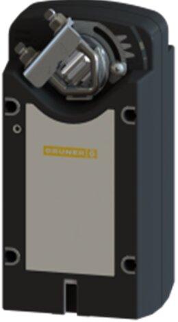 Электроприводы  GRUNER для воздушных заслонок с пружинным возвратом