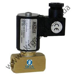 Клапан электромагнитный газовый Madas M15-1 Ду 15