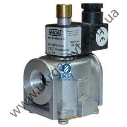 Клапан электромагнитный газовый Madas M16/RMC N.A. НО Ду 15