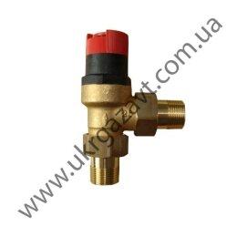 Предохранительный перепускной (байпасный) клапан с регулировкой перепада давления DU145