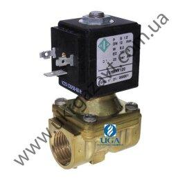 Клапан электромагнитный ODE 21H8KB120 непрямого действия НЗ 1/2