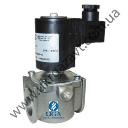 Клапан электромагнитный газовый Madas EVP/NC НЗ Ду 25