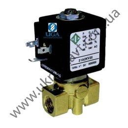 Клапан электромагнитный ODE 21A2KB15 прямого действия НЗ 1/4