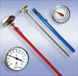 Термометры биметаллические игольчатые ТБИ