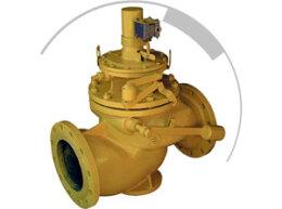 Запорный клапан с электромагнитным исполнительным механизмом ПКН э (ПКВ э)
