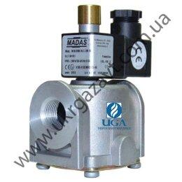 Клапан электромагнитный газовый Madas M16/RMC N.C. НЗ Ду 15