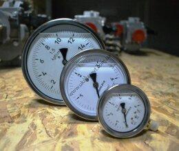 ДМ8008-ВУф,  ДВ8008-ВУф, ДА8008-ВУф манометры,  вакуумметры , мановакуумметры виброустойчивые