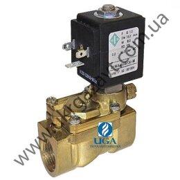 Клапан электромагнитный ODE 21WA4ZOB130 непрямого действия НО 1/2