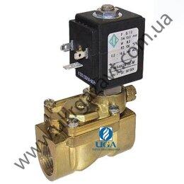 Клапан электромагнитный ODE 21WA4ZOV130 непрямого действия НО 1/2