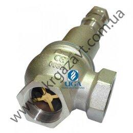 Клапан предохранительный Valtec VT 1831 латунный ВВ Ду 15 (1/2