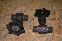 Клапан запорный проходной 15с54бк 15нж54нж Вентиль игольчатый ВИ Вентиль высокого давления ВВД