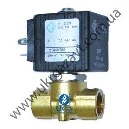 Клапан электромагнитный ODE 21A5KB45 прямого действия НЗ 3/8