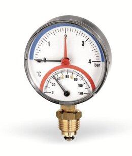 Термоманометр радиальный  WATTS F R828 (TMRP)