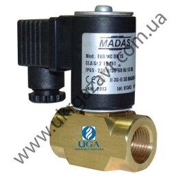 Клапан электромагнитный газовый Madas EVO/NC НЗ Ду 15