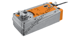 Привод BELIMO EF24A-SR-S2 Плавного регулирования 0…10 В= 2 вспомогательных переключателя