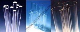 Трубка кварцевая стеклянная (водомерная водоуказательная) Ду=20 мм