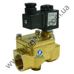 Клапан электромагнитный ODE 21YW6ZOT250 непрямого действия НО 1