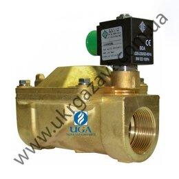 Клапан электромагнитный ODE 21W5KB350 непрямого действия НЗ 1 1/4