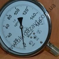 Коррозионностойкие манометры,  мановакуумметры МП4Аф-Кс, МВП4Аф-Кс