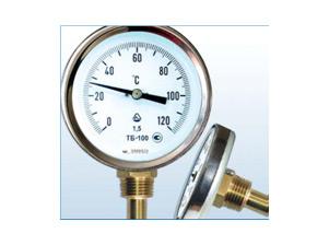 Термометры биметаллические ТБ стандартное исполнение