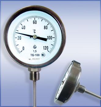 Термометры биметаллические ТБ специального использования