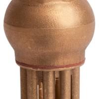 Донный клапан сетчатый латунный