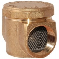 Фильтр газовый латунный муфтовый Ду20мм и ДУ15мм