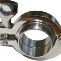 Кламповое соединение нержавеющее зажим Clamp из нержавеющей стали