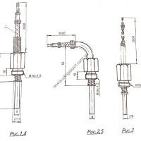 Преобразователь термоэлектрический ТХК-2488 ТУ 25-7363.041-89