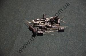 Электролитический конденсатор 50V100пкф