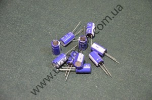 Электролитический конденсатор 63V70мкф