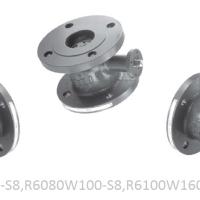 Регулирующий шаровой кран Belimo R6065W63-S8,R6080W100-S8,R6100W160-S8,6150W320-S8