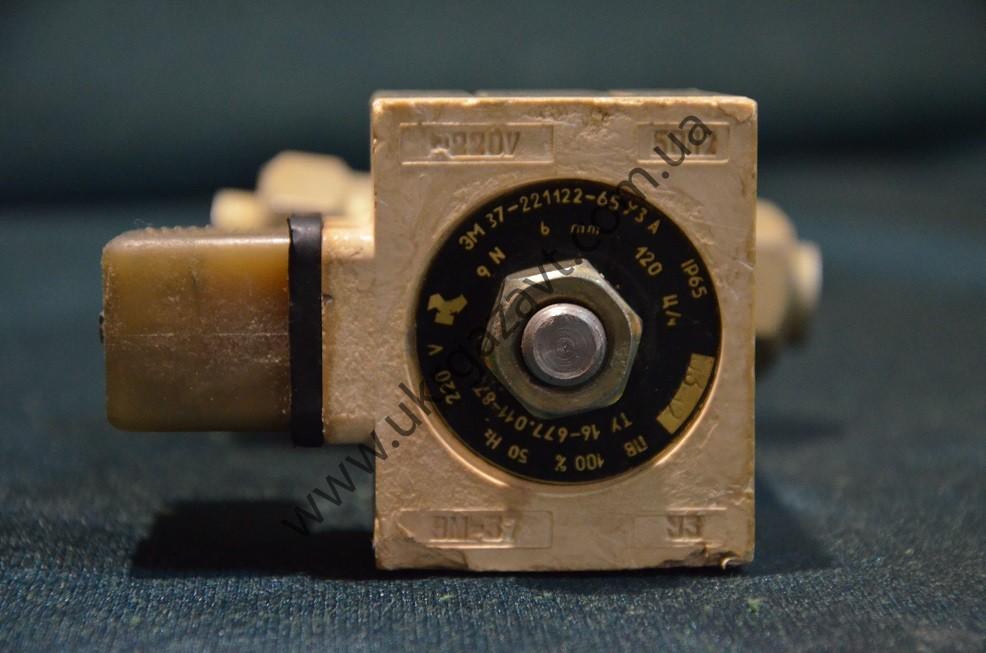 Клапан электромагнитный мембранный, ЭМ-37 220V
