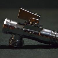 Кран угловой хромированный с фильтром Classic