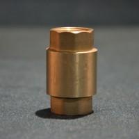 Обратный клапан с пластиковым штоком