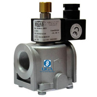 Клапан электромагнитный газовый Madas M16/RMC N.C. НЗ Ду 20