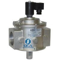 Клапан электромагнитный газовый Madas M16/RM N.A. НО Ду 40