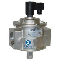 Клапан электромагнитный газовый Madas M16/RM N.C. НЗ Ду 40