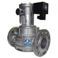 Клапан электромагнитный газовый Madas M16/RM N.C. НЗ Ду 65