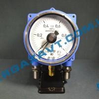 Электроконтактный взрывозащищенный манометр ДМ2005ф Cr 1Ex 0 - 1 МПа кл. т. 1,5