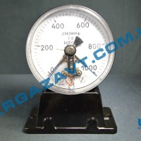 Электроконтактный манометр ДМ2005ф х 0 - 1000 кгс/см2 кл. т. 1,5