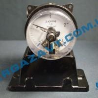 Электроконтактный мановакуумметр ДА2010ф исп V -1 - 0 - 3 кгс/см2 кл. т. 1,5