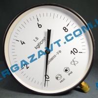 Манометр котловой ДМ8010-Уф 0 - 10,0 кгс/см2 кл. т. 1,5