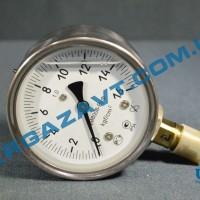 Виброустойчивый манометр ДМ8008-ВУф 0 - 16 кгс/см2 кл. т. 1,0